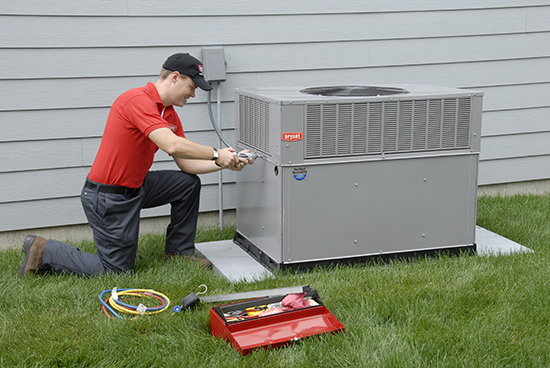 Furnace repair from Bryant technician